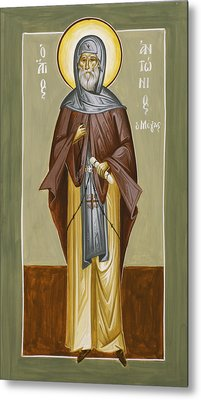 St Anthony Metal Print by Julia Bridget Hayes