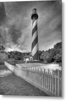 St Augustine Lighthouse Metal Print