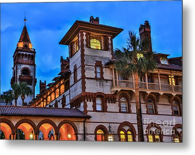 Metal Print featuring the photograph St. Augustine's View by Paula Porterfield-Izzo