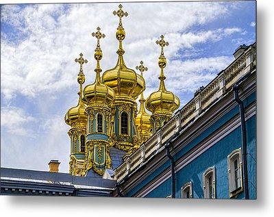 St Catherine Palace - St Petersburg Russia Metal Print by Jon Berghoff