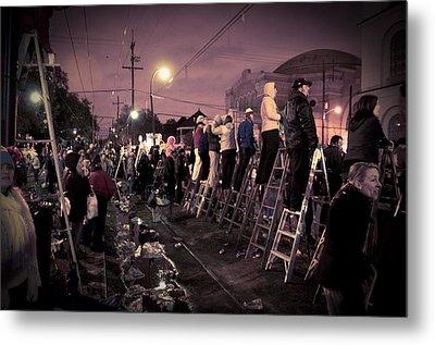 St Charles Night Parade Metal Print by Ray Devlin