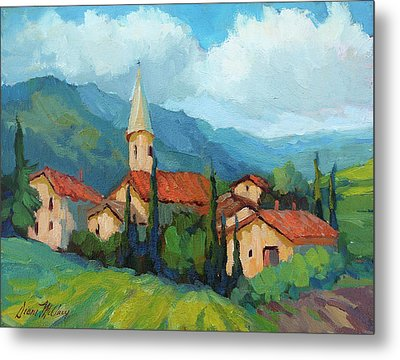 St. Colombe Provence Metal Print by Diane McClary