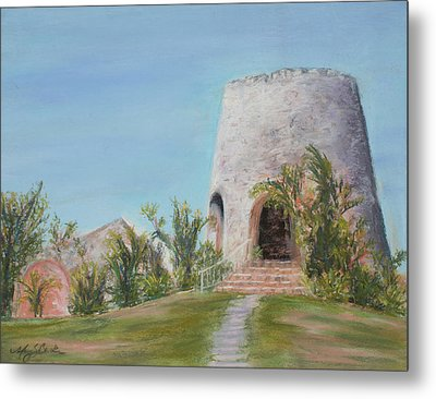 St. Croix Sugar Mill Metal Print