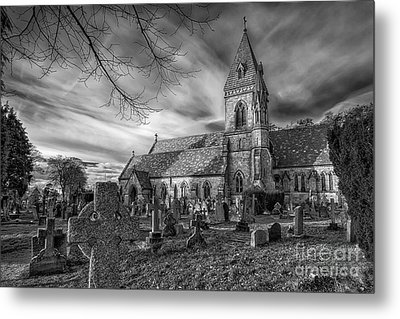 St David's Pantasaph Metal Print by Adrian Evans