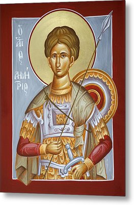 St Dimitrios The Myrrhstreamer Metal Print