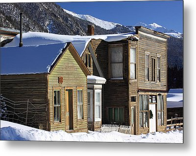 St. Elmo Ghost Town Metal Print by Eric Glaser