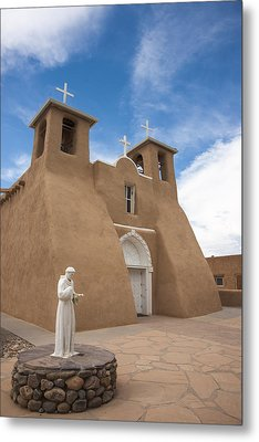 Metal Print featuring the photograph St. Francis #1 by Don McGillis