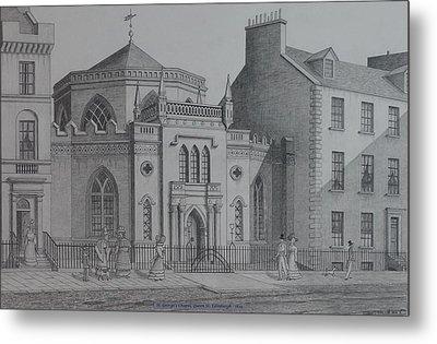 St Georges Chapel Edinburgh Metal Print