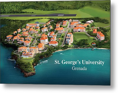 St. George's University Metal Print