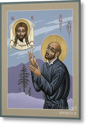 Metal Print featuring the painting St. Ignatius Amidst Alaska 141 by William Hart McNichols