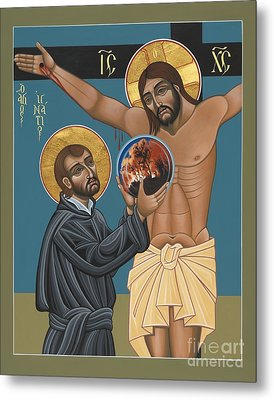 Metal Print featuring the painting St. Ignatius And The Passion Of The World In The 21st Century 194 by William Hart McNichols