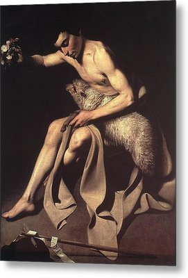 St John The Baptist Metal Print by Celestial Images