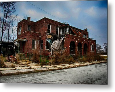 St. John's Hospital Metal Print by Jerome Lynch