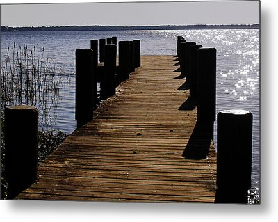 St Johns River Florida - A Chain Of Lakes Metal Print