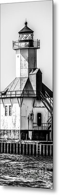 St. Joseph Lighthouse Vertical Panorama Picture  Metal Print by Paul Velgos
