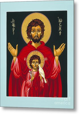 St. Joseph Shadow Of The Father 039 Metal Print