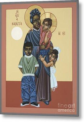 St. Josephine Bakhita Universal Sister 095 Metal Print