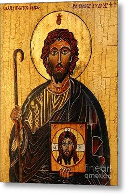 St. Jude The Apostle Metal Print by Ryszard Sleczka