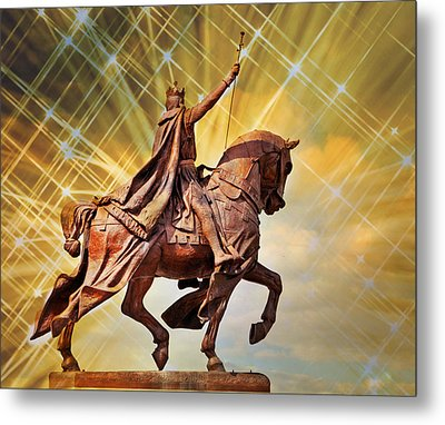 Metal Print featuring the photograph St. Louis 5 by Marty Koch