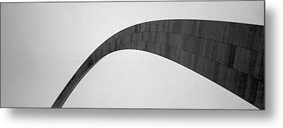 St. Louis Arch Metal Print by Mary Bedy