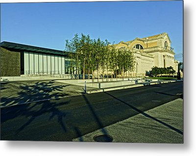 St Louis Art Museum New And Old Metal Print by Greg Kluempers