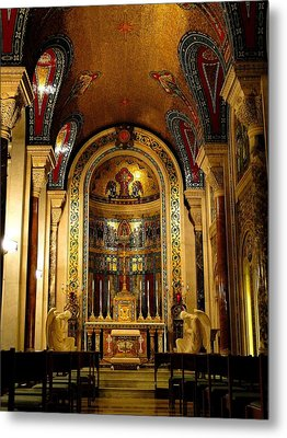 St Louis Cathedral Basilica Metal Print