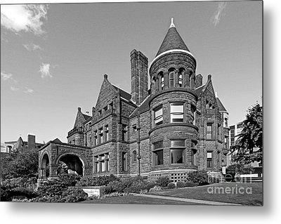 St. Louis University Samuel Cupples House Metal Print by University Icons