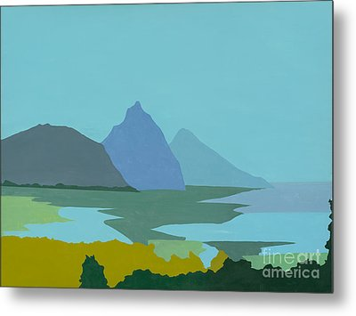 St. Lucia - W. Indies II Metal Print by Elisabeta Hermann