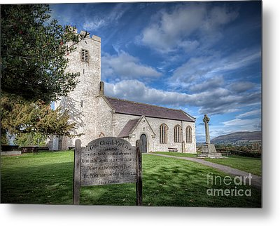 St Marcella's Church Metal Print by Adrian Evans