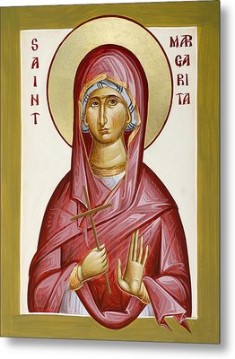 St Margarita Metal Print by Julia Bridget Hayes