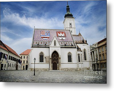 St. Mark's Church Metal Print by Jelena Jovanovic