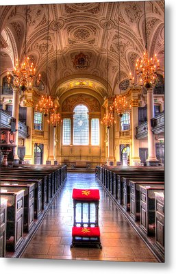 St Martin In The Fields Metal Print