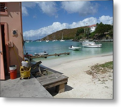 Metal Print featuring the photograph St. Martins  by Cathy Donohoue