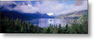 St Mary Lake, Glacier National Park Metal Print