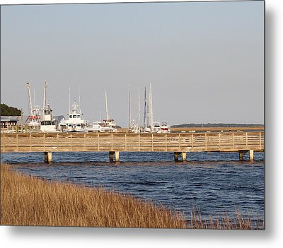 St. Mary's Harbor Metal Print