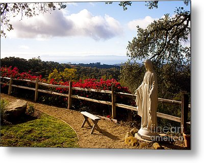 St. Mary's Seminary Santa Barbara Metal Print