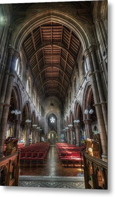 St Mary's Without The Walls V2 Metal Print by Ian Mitchell