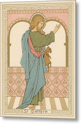 St Matthew Metal Print by English School