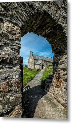 St Patrick Arch Metal Print by Adrian Evans