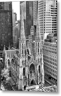 St. Patrick's Cathedral Metal Print