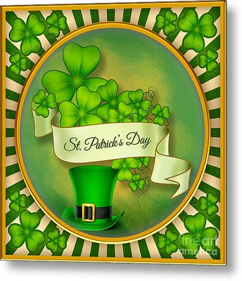St. Patrick's Day Metal Print by Bedros Awak