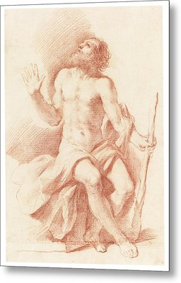 St Paul The Hermit Metal Print by Celestial Images
