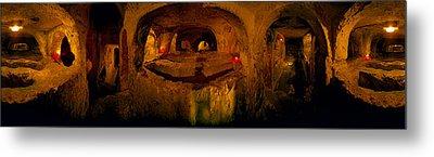 St. Pauls Catacombs, Rabat, Malta Metal Print