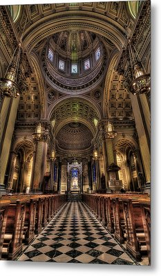 St. Peter And Paul Cathedral Metal Print by Kim Zier