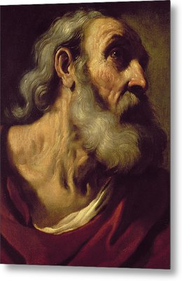 St. Peter Metal Print by Guercino