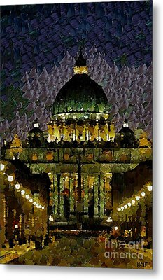 St. Peter's Basilica Metal Print by Dragica  Micki Fortuna