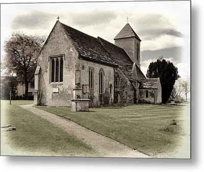 Metal Print featuring the photograph St Peters Church 1 by Paul Gulliver