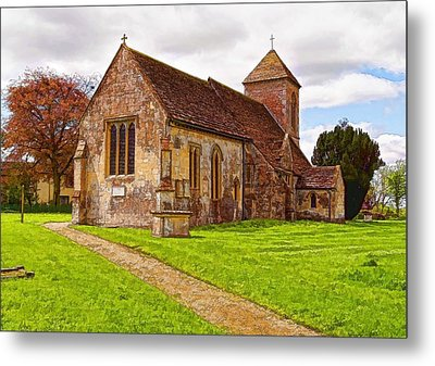 Metal Print featuring the photograph St Peters Church 2 by Paul Gulliver