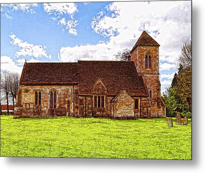 St Peters Church 4 Metal Print by Paul Gulliver