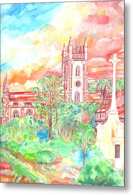 St Peter's Church - St Albans Metal Print